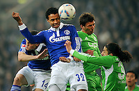 Fussball Bundesliga 2011/12: FC Schalke 04 - VFL Wolfsburg