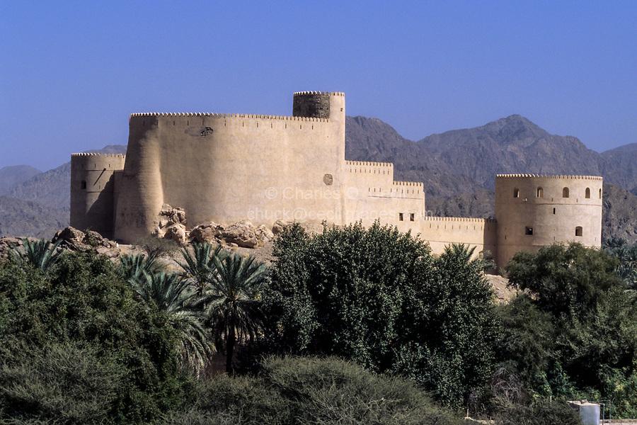 Rustaq, Oman.  Rustaq Fort.