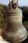 Varna, Bulgaria. Monastery bell at Aladzha (Aladja).