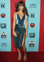 HOLLYWOOD, LOS ANGELES, CA, USA - OCTOBER 05: Lea Michele arrives at the Los Angeles Premiere Screening Of FX's 'American Horror Story: Freak Show' held at the TCL Chinese Theatre on October 5, 2014 in Hollywood, Los Angeles, California, United States. (Photo by Celebrity Monitor)