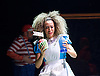 The Mad Hatter&rsquo;s Tea Party <br /> by Zoo Nation<br /> directed by Kate Prince<br /> presented by Zoo Nation, The Roundhouse &amp; The Royal Opera House<br /> at The Roundhouse, London, Great Britain <br /> rehearsal <br /> 29th December 2016 <br /> <br /> <br /> <br /> Kayla Lomas-Kirton as Alice <br /> <br /> <br /> <br /> Photograph by Elliott Franks <br /> Image licensed to Elliott Franks Photography Services