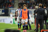 VOETBAL: HEERENVEEN: Abe Lenstra Stadion 29-08-2015, SC Heerenveen - PEC Zwolle, uitslag 1-1, Luka Zahovic (#15), ©foto Martin de Jong