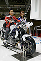 Suzuki Gladius 400 ABS on display during the first press day for the 41th Tokyo Motor Show, 21 October 2009 in Tokyo (Japan). The TMS will be open for the public from 23 October 2007 to 4 November 2009.