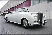 James Bond set designer's Roller for sale.