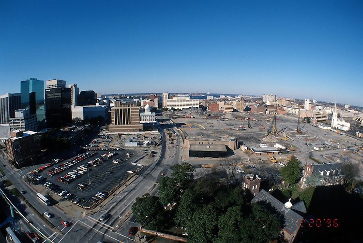 1996 DECEMBER 20..Redevelopment..Macarthur Center.Downtown North (R-8)..LOOKING  WEST.SUPERWIDE...NEG#.NRHA#..
