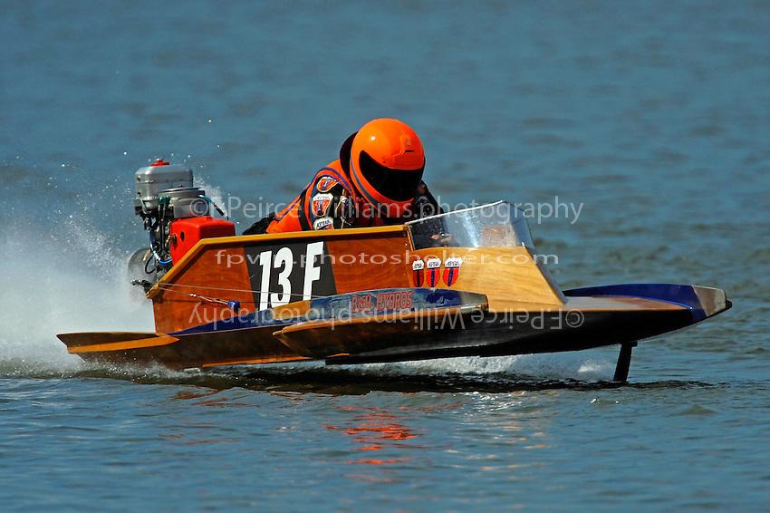 13-F (outboard hydroplane)