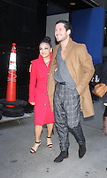 NEW YORK, NY November 23: Laurie Hernandez, Valentin Chmerkovskiy winner of Dancing with Stars 2016 at Good Morning America in New York City.November 23, 2016. Credit:RW/MediaPunch
