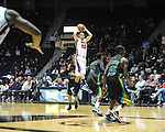 Ole Miss' Marshall Henderson (22) vs. Coastal Carolina at the C.M. &quot;Tad&quot; Smith Coliseum in Oxford, Miss. on Tuesday, November 13, 2012. (AP Photo/Oxford Eagle, Bruce Newman)