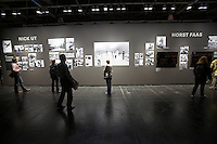 Photokina in Cologne ist the World's biggest bi-annual photo fair..Photo exhibition at Hall 1..Pictures from the Vietnam War by Nick Ut and Horst Faas.
