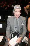 Peter Davis-Front Row-Mercedes Benz Fashion Week Douglas Hannant Fall 2013, NY 2/13/13