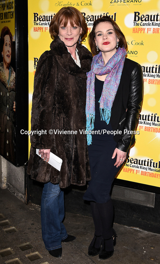 &lsquo;Beautiful - The Carole King Musical' first Birthday celebration at the Aldwych Theatre, London on February 23rd 2016<br /> <br /> Photo by Vivienne Vincent