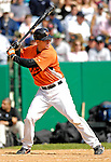 21 May 2007: Baltimore Orioles catcher Brian Bock in action against the Toronto Blue Jays during Baseball's Annual Hall of Fame Game at Doubleday Field in Cooperstown, NY. Bock was the game MVP going 3-for-4 with five RBIs, two home runs including a grand slam as the Orioles defeated the Blue Jays 13-7 in front of a sellout crowd of 9,791 at the historical ballpark...Mandatory Credit: Ed Wolfstein Photo