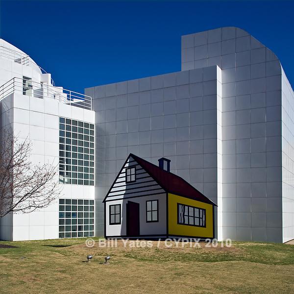 The High Museum of Art Atlanta Georgia Roy Lichtenstein House III Piazza