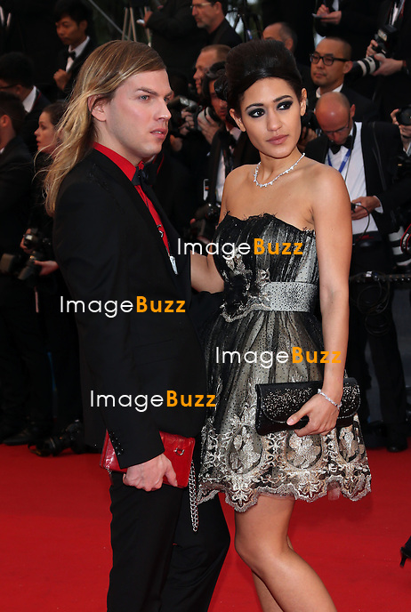 CPE/Christophe GuillarmÈ and Josephine Jobert attends the Opening Ceremony and 'The Great Gatsby' Premiere during the 66th Annual Cannes Film Festival at the Theatre Lumiere on May 15, 2013 in Cannes, France.