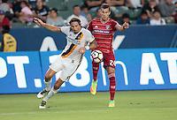 Carson, CA - August 10, 2016: The LA Galaxy take on FC Dallas in a 2016 Lamar Hunt U.S. Open Cup Semi Final match at StubHub Center.