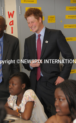 """PRINCE HARRY AND PRINCE SEEISO.visited the Harlem Children's Zone School,Harlem_NYC_USA29/05/2009.Mandatory Photo Credit: ©Dias/Newspix International..**ALL FEES PAYABLE TO: """"NEWSPIX INTERNATIONAL""""**..PHOTO CREDIT MANDATORY!!: NEWSPIX INTERNATIONAL(Failure to credit will incur a surcharge of 100% of reproduction fees)..IMMEDIATE CONFIRMATION OF USAGE REQUIRED:.Newspix International, 31 Chinnery Hill, Bishop's Stortford, ENGLAND CM23 3PS.Tel:+441279 324672  ; Fax: +441279656877.Mobile:  0777568 1153.e-mail: info@newspixinternational.co.uk"""