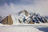Ruth glacier, Alaska range mountains, interior, Alaska.