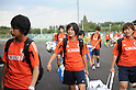 U-20 Japan Women's Team Official Training Session in Tokyo