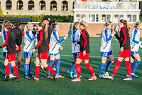 Boston, MA - Friday May 19, 2017: Boston Breakers and Portland Thorns during a regular season National Women's Soccer League (NWSL) match between the Boston Breakers and the Portland Thorns FC at Jordan Field.