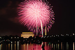 Fireworks light up DC on July 4, 2010