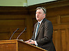 Ed Balls MP Shadow Chancellor of the Exchequer speaking at the UK Infrastructure Conference at ICE, One Great George Street, London, Great Britain on 3rd February 2015 <br /> <br /> Ed Balls MP <br /> <br /> Photograph by Elliott Franks <br /> <br /> Image licensed to Elliott Franks Photography Services