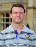 Damien Kelly poses for a portrait at a Bath Rugby photocall. Bath Rugby Media Day on August 24, 2016 at Farleigh House in Bath, England. Photo by: Patrick Khachfe / Onside Images