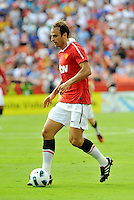 Dimitar Berbatov...Kansas City Wizards defeated Manchester United 2-1 in an international friendly at Arrowhead Stadium, Kansas City, Missouri.