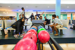 ISAF Emerging Nations Program, Langkawi, Malaysia. Malaysian Youth Sailing Team playing Bowling.