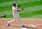 6 September 2009: Cleveland Indians' third baseman Jhonny Peralta in action against the Minnesota Twins at Progressive Field in Cleveland, Ohio. The Indians defeated the Twins 3-1 to take the rubber match of their three-game weekend series. Mandatory Credit: Ed Wolfstein Photo