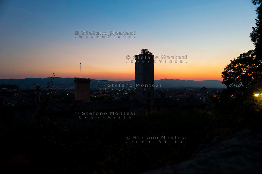 Gubbio, Torre medievale