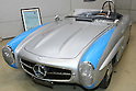 May 22, 2010 - Tokyo, Japan - A vintage Mercedes 190SL is on display during the 'Tokyo Nostalgic Car Show' held at the Tokyo Big Sight Exhibition Center, in Tokyo, Japan on May 22, 2010. This year marks the 20th anniversary of the show's existence.