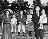 Ann Arbor, Mi - FILE -- Ann Arbor, MI - FILE -- United States Representative Gerald R. Ford, Jr. (Republican of Michigan) family. (l-r Steve, Jack, Mike, Susan) Date: 1958<br /> Credit: Courtesy Gerald R. Ford Library via CNP