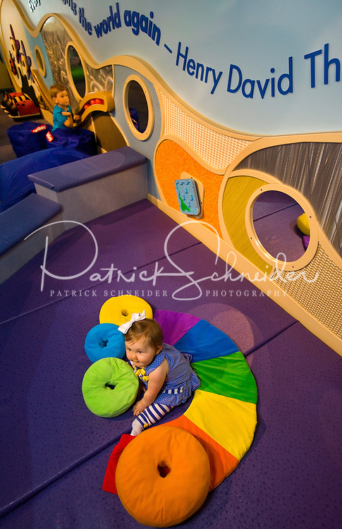 Discovery Place Kids (DPK), a children's museum that opened in Rockingham, NC, in April 2013. DPK is a satellite museum for Charlotte-based Discovery Place. The target audience of DPK is birth to seven years. The museum is located within the Rockingham, NC