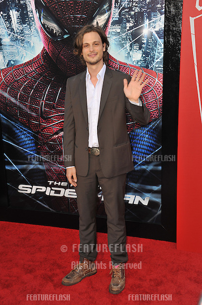 "Matthew Gray Gubler at the world premiere of ""The Amazing Spider-Man"" at Regency Village Theatre, Westwood..June 29, 2012  Los Angeles, CA.Picture: Paul Smith / Featureflash"