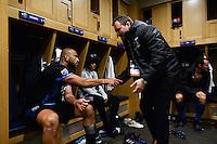 San Jose, CA - Saturday, March 04, 2017: Victor Bernardez after a Major League Soccer (MLS) match between the San Jose Earthquakes and the Montreal Impact at Avaya Stadium.