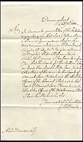 BNPS.co.uk (01202 558833)<br /> Pic: Mellors&amp;Kirk/BNPS<br /> <br /> Fascinating letters in which a cash-strapped Admiral Lord Nelson fired a financial broadside at his commanding officer in an unseemly row over prize money have come to light.