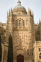 Cathedral, Salamanca, Castile and Leon, Spain