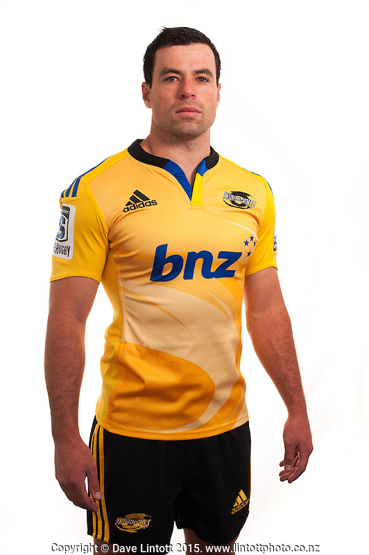 James Marshall. Hurricanes Super Rugby official headshots at Rugby League Park, Wellington, New Zealand on Tuesday, 13 January 2015. Photo: Dave Lintott / lintottphoto.co.nz