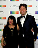 Violinist Joshua Bell and his mother, Shirley, arrive for the formal Artist's Dinner honoring the recipients of the 39th Annual Kennedy Center Honors hosted by United States Secretary of State John F. Kerry at the U.S. Department of State in Washington, D.C. on Saturday, December 3, 2016. The 2016 honorees are: Argentine pianist Martha Argerich; rock band the Eagles; screen and stage actor Al Pacino; gospel and blues singer Mavis Staples; and musician James Taylor.<br /> Credit: Ron Sachs / Pool via CNP