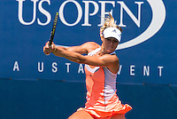 NEW YORK, NY - August 27, 2013: Maria Kirilenko (RUS)  during her first round single's match at the 2013 US Open in New York, NY on Tuesday, August 27, 2013.