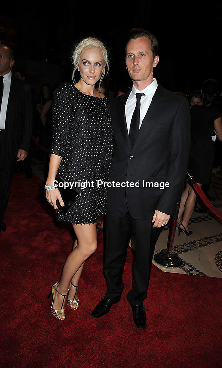 Monet Mazur and husband.at The 9TH Annual New Yorkers for Children Fall Gala on September 16, 2008 at Ciprianis 42nd Street. ..Robin Platzer, Twin Images