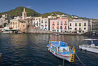 Lipari, Eolian Islands, Italy, June 2006. The Volcanic Eolian Islands of Southern Italy offer a spectacular landscape for trekking while staying in picturesque towns. Photo by Frits Meyst/Adventure4ever.com