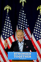PEMBROKE PINES, FL - AUGUST 27: U.S. Senator for Florida Bill Nelson attends Democratic vice-presidential nominee Tim Kaine meeting with Local Mayors and Elected Officials for a policy Meeting at Southwest Focal Point Senior Center on August 27, 2016 in Pembroke Pines, Florida.  Credit: MPI10 / MediaPunch