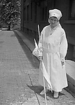 Pittsburgh PA: Sarah Stewart did her part to support the World War 1 war effort with the Red Cross - 1918