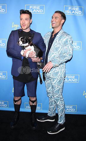 NEW YORK, NY April 20, 2017 Jorge Bustillos, Patrick McDonald attend Logo's Fire Island Premiere Party  at Atlas Social Club  in New York April 20,  2017. Credit:RW/MediaPunch