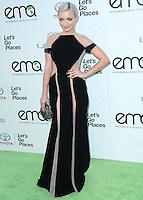 BURBANK, CA, USA - OCTOBER 18: Francesca Eastwood arrives at the 2014 Environmental Media Awards held at Warner Bros. Studios on October 18, 2014 in Burbank, California, United States. (Photo by Xavier Collin/Celebrity Monitor)