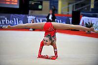 Nataliya Balycheva of Russia (junior) performs at 2010 Grand Prix Marbella at San Pedro Al Cantara, Spain on May 14, 2010.  (Photo by Tom Theobald).