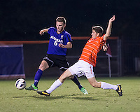 The number 24 ranked Furman Paladins took on the number 20 ranked Clemson Tigers in an inter-conference game at Clemson's Riggs Field.  Furman defeated Clemson 2-1.  Bobby Belair (3), Trevor Haberkorn (6)
