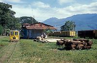 The Sitio del Nino train station in El Salvador, Central America