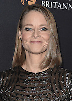 BEVERLY HILLS, CA - OCTOBER 28:  Jodie Foster at the 2016 BAFTA Los Angeles Britannia Awards at the Beverly Hilton Hotel on October 28, 2016 in Beverly Hills, California. Credit: MediaPunch